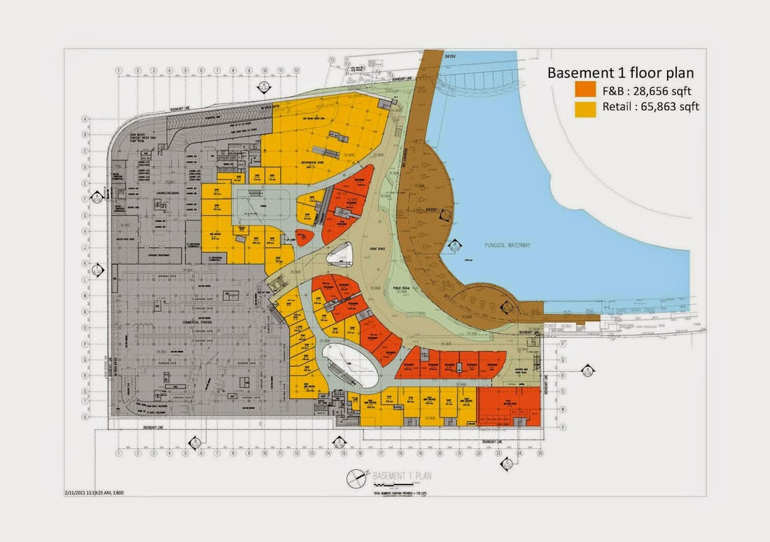Bedroom Images Site Plan Waterway Point Shopping Mall Opening On 18